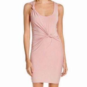 New! T Alexander Wang Pink Knot Tank Dress 0035